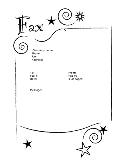 Fax Cover Sheet sample 10.461