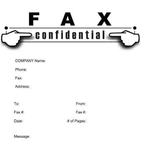 Fax Cover Sheet sample 9.461
