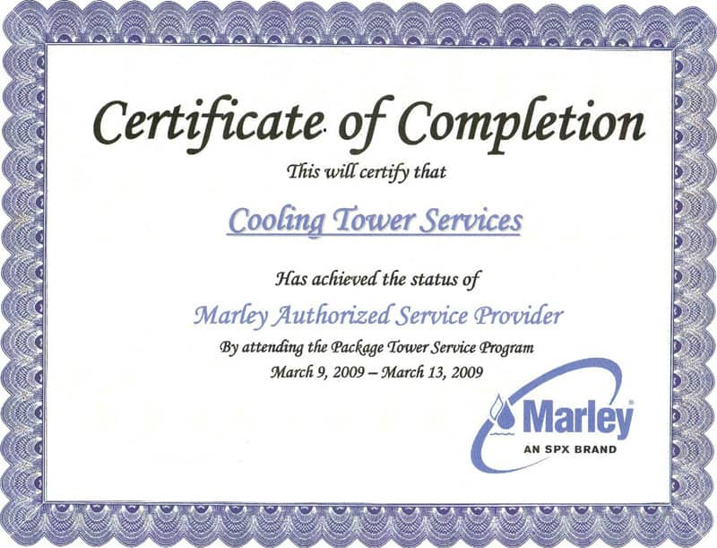 Free Certificate of Completion example 10.641