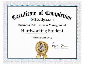 Free Certificate of Completion example 14.7485827