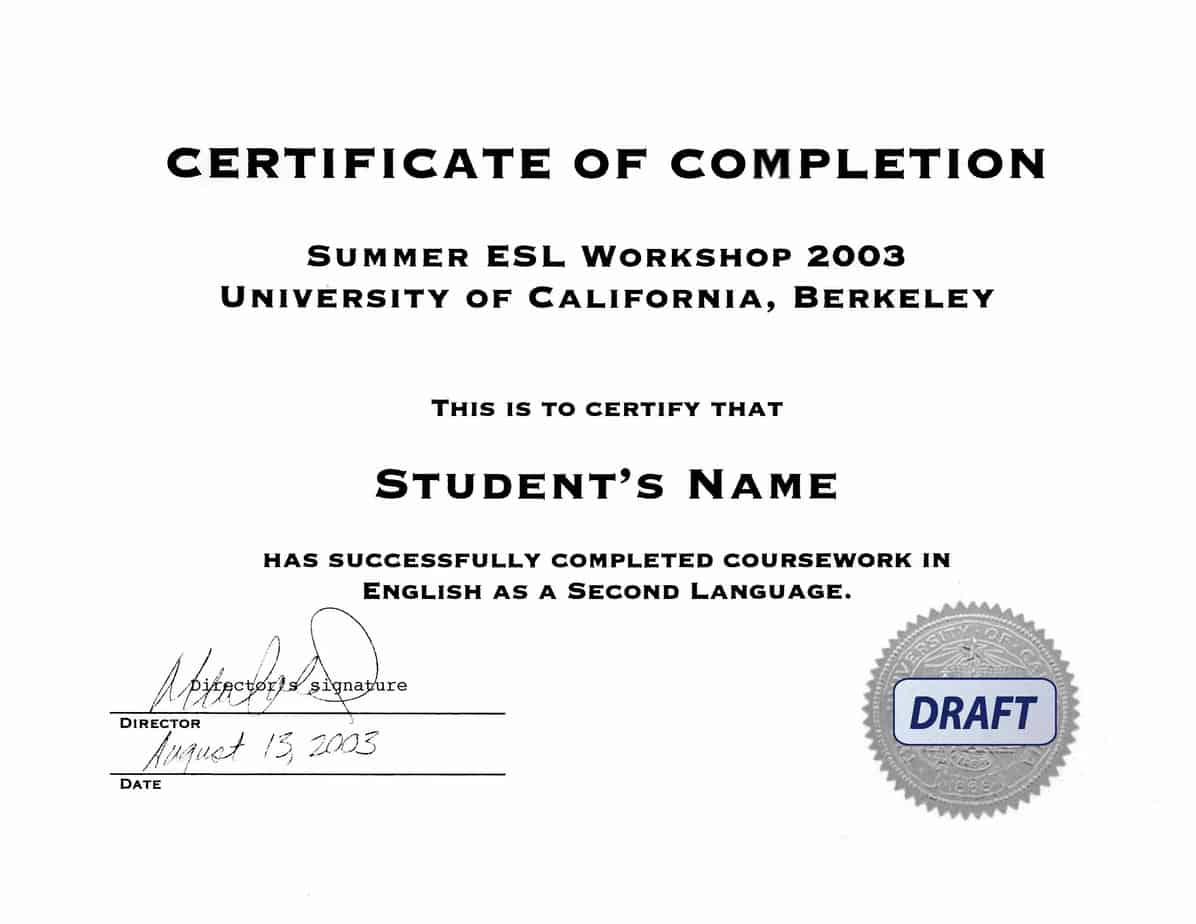 Free Certificate of Completion example 26.9641