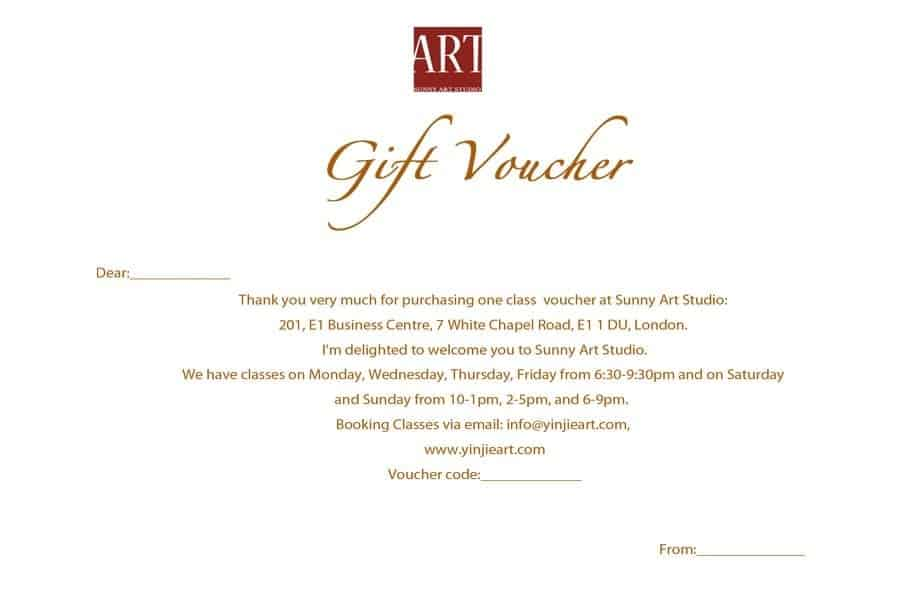Gift Voucher sample 18.641