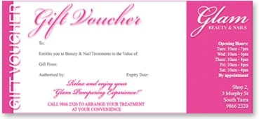 Gift Voucher sample 5941