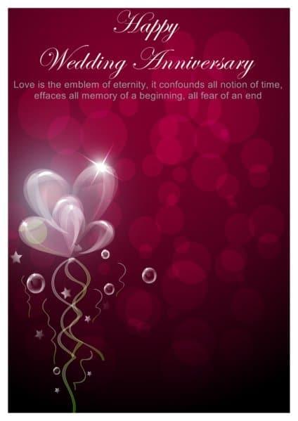 Happy Anniversary Card 6941