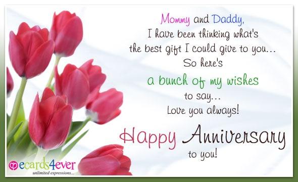 Happy Anniversary Card example 167452