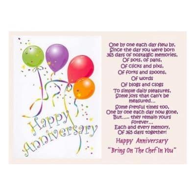 Happy Anniversary Card example 897431