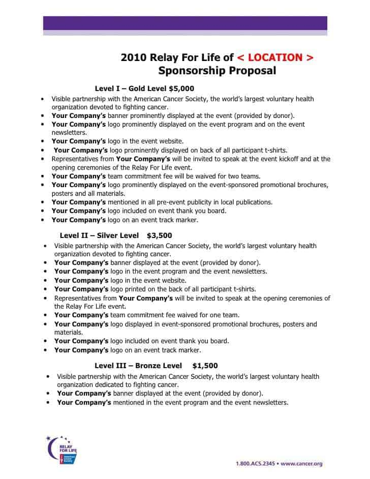 21 free sponsorship proposal template word excel formats see more examples of sponsorship proposal template below thecheapjerseys Images