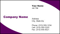 Visiting Card Template 36413