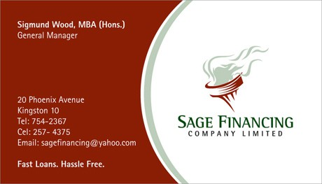 Visiting Card Template 5984