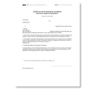 affidavit form example 20