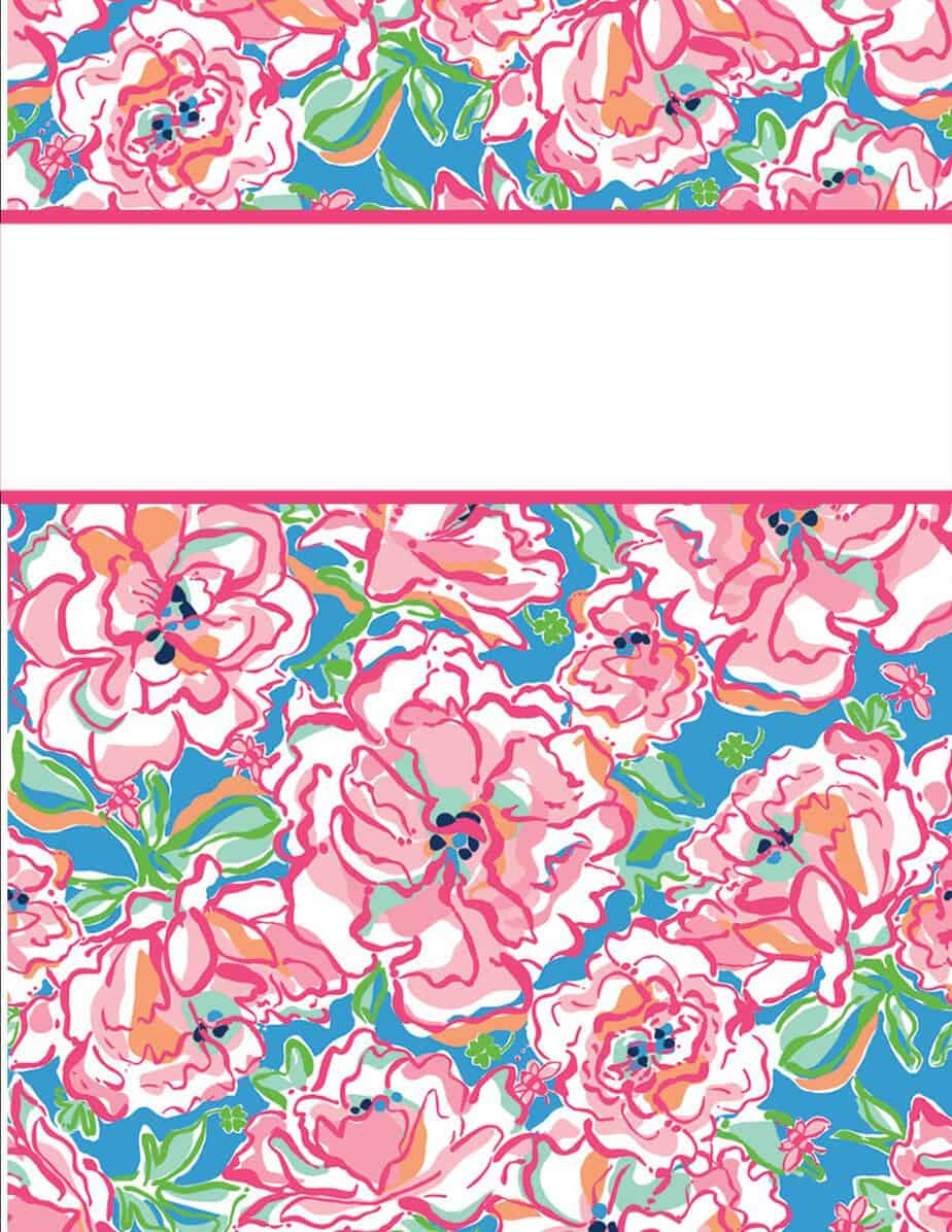 Pretty Book Cover Generator ~ Free binder cover templates word pdf publisher
