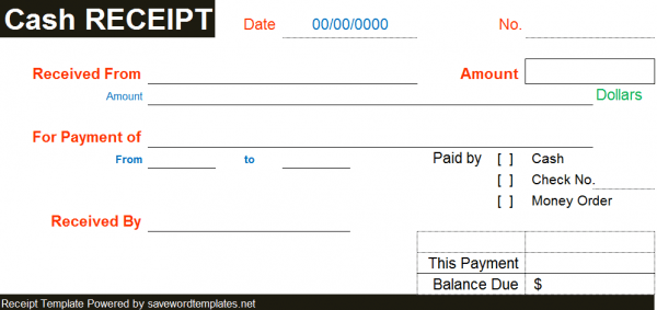 cash receipt example 12.941