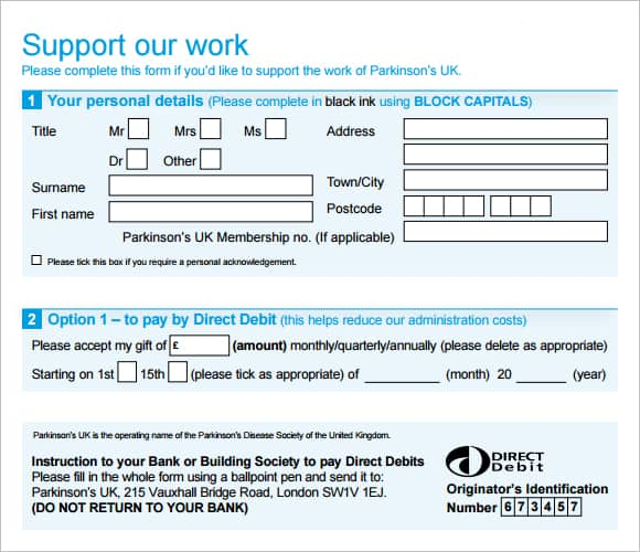 donation form example 21.641