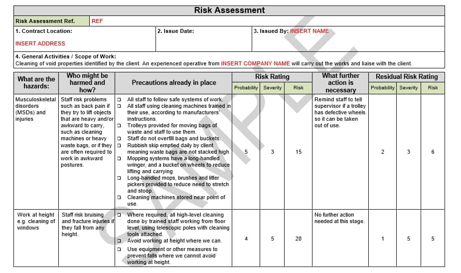 free assessment example 20.9641