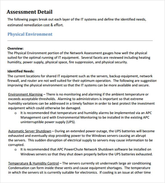 free assessment example 26.94