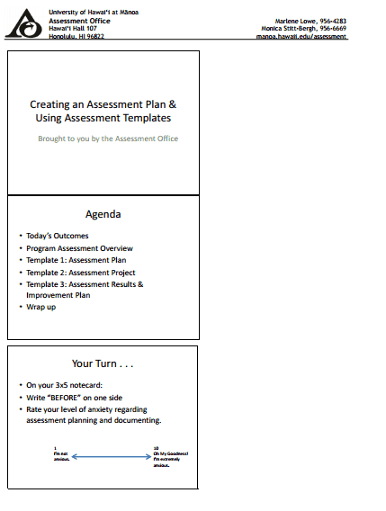 free assessment template 3941
