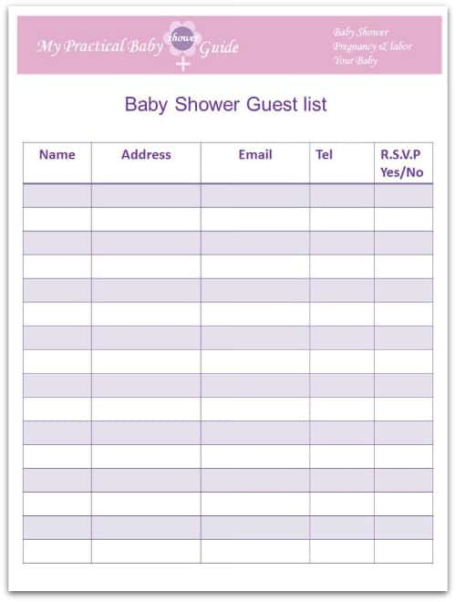 guest list example 29.49