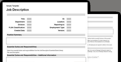 job description sample 7941