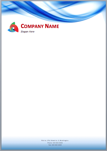 33 free letterhead templates in word excel pdf letterhead sample 4941 clip spiritdancerdesigns Images