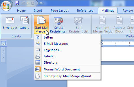 mail merge example 9941
