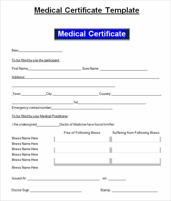 medical certificaet example 114.41