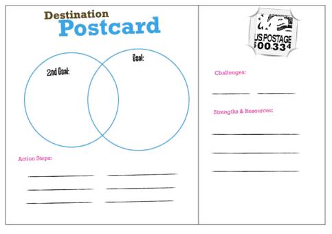 postcard template 3644