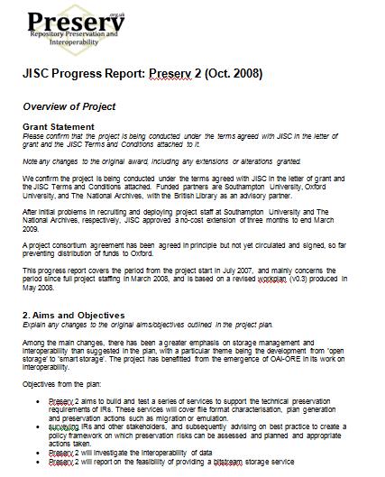 progress report template 5941