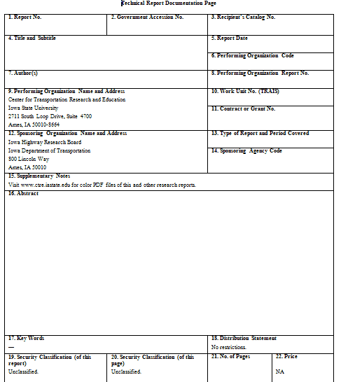 project report template 2941