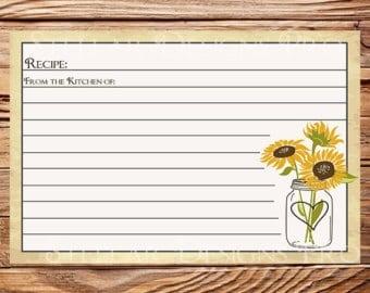 recipe card sample 20.641