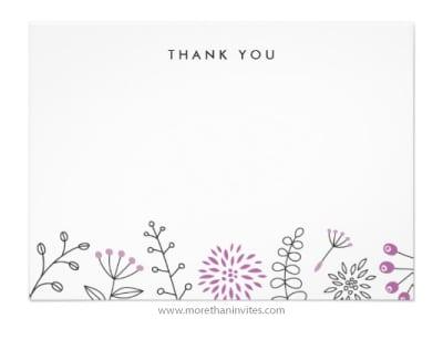 thank you card sample 13.64