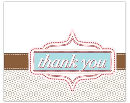 thank you card sample 84