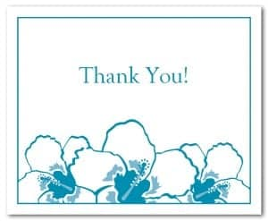 thank you card template 6461