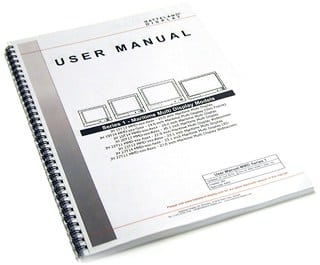 user manual sample 19.61