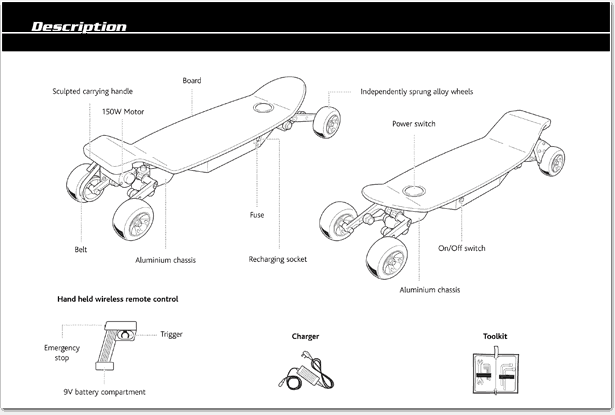 user manual sample 541
