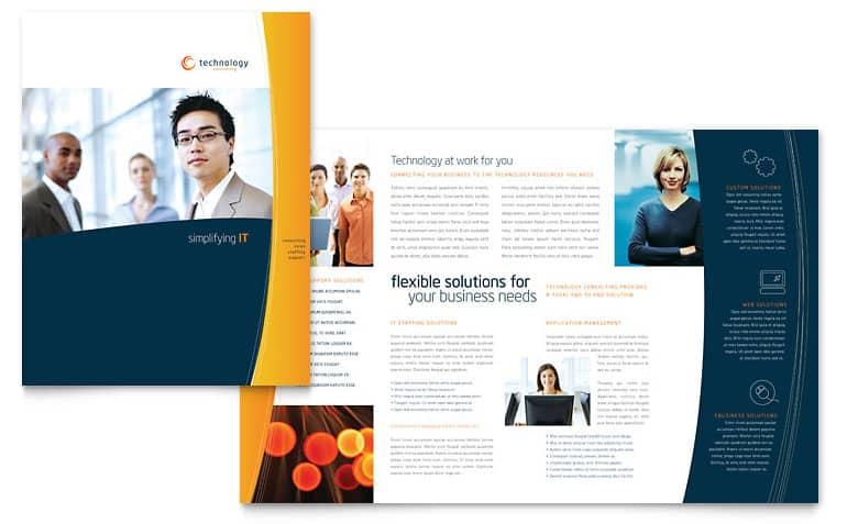 word brochure format 5941