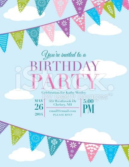 Birthday Invitation Template 5941