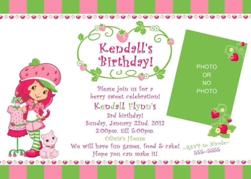 Birthday Invitation sample 15