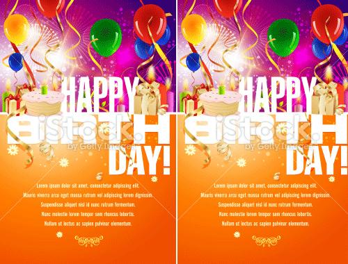 Birthday Invitation sample 3641