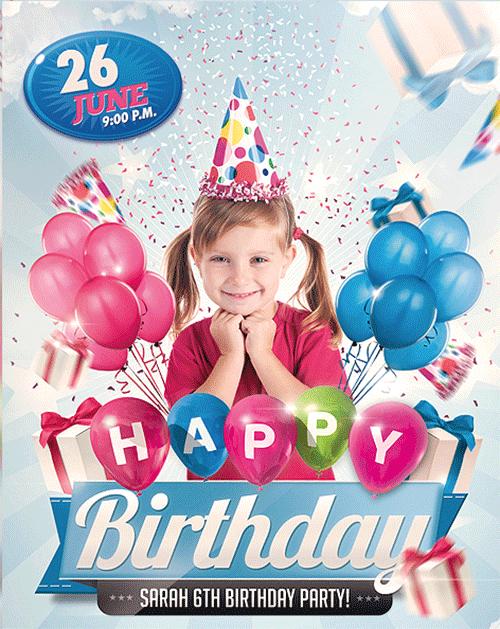 Birthday Invitation sample 941