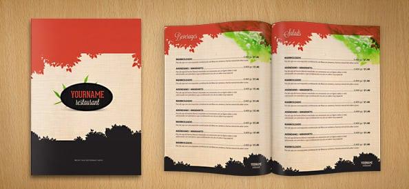 Free Restaurant Menu sample 10.61