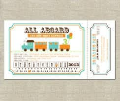 Ticket Invitation sample 13.61