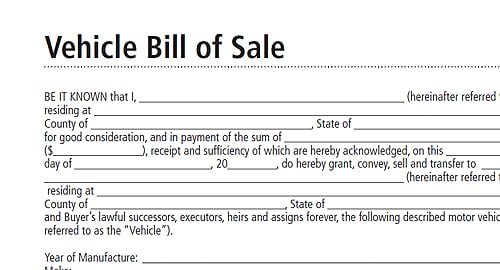 bill of sale sample 10.641
