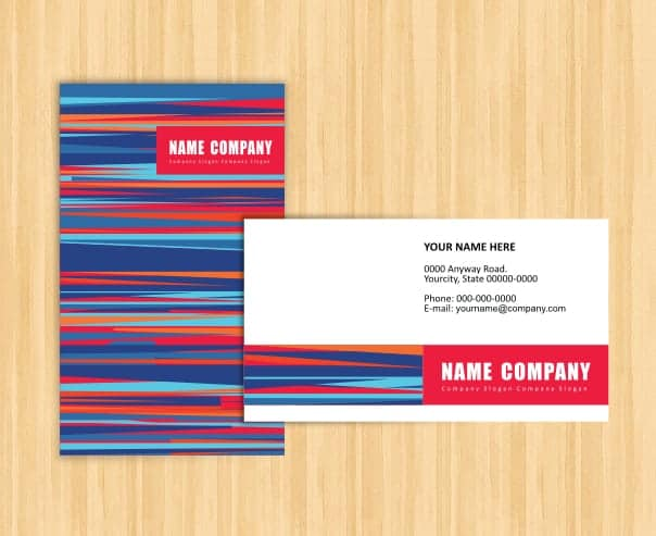 21 Free Name Card Template Word Excel Formats – Name Card Format