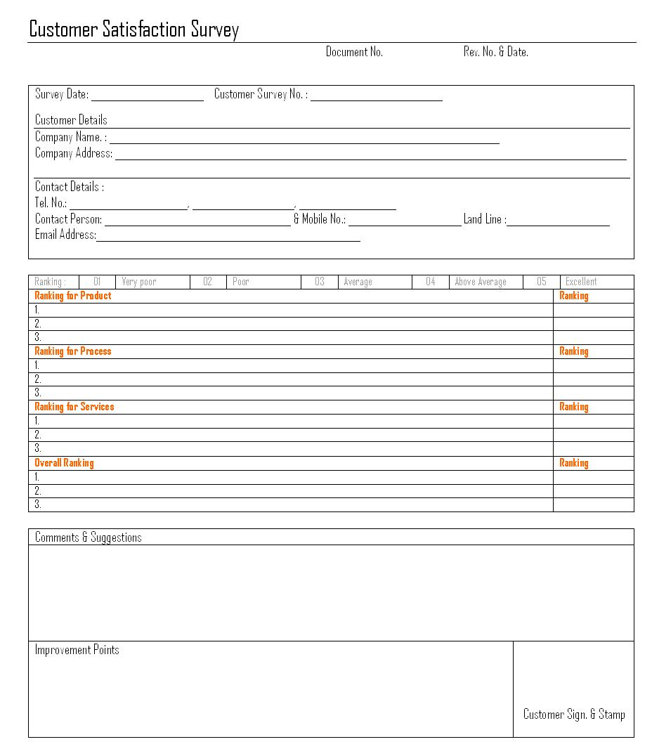 sample survey 1641