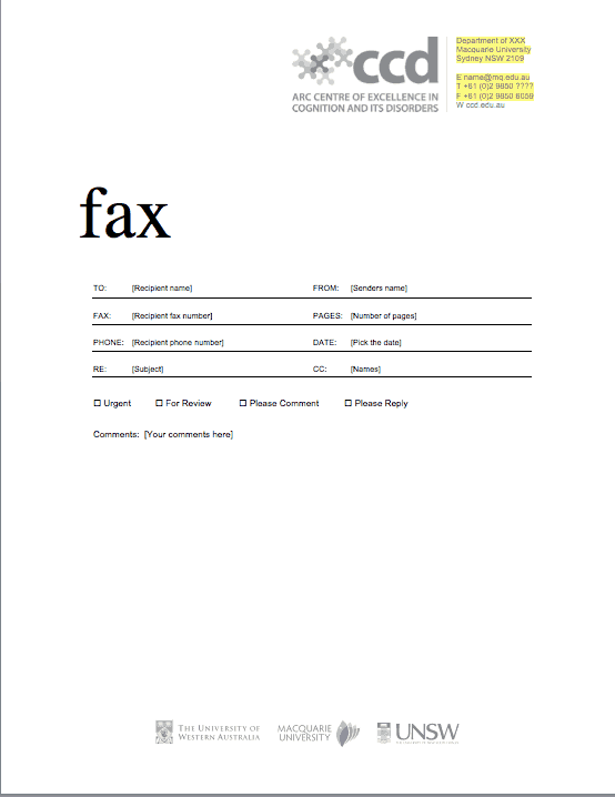 Fax Cover Sheet sample 17.41