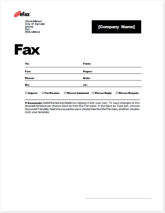 Fax Cover Sheet sample 6941