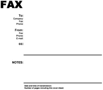 Fax Word sample 16.941