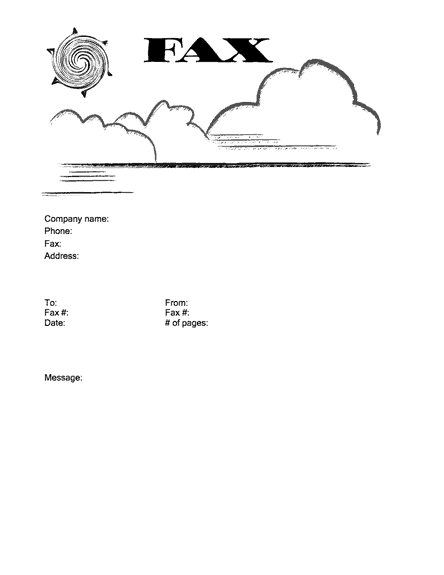 Fax Word sample 17.941