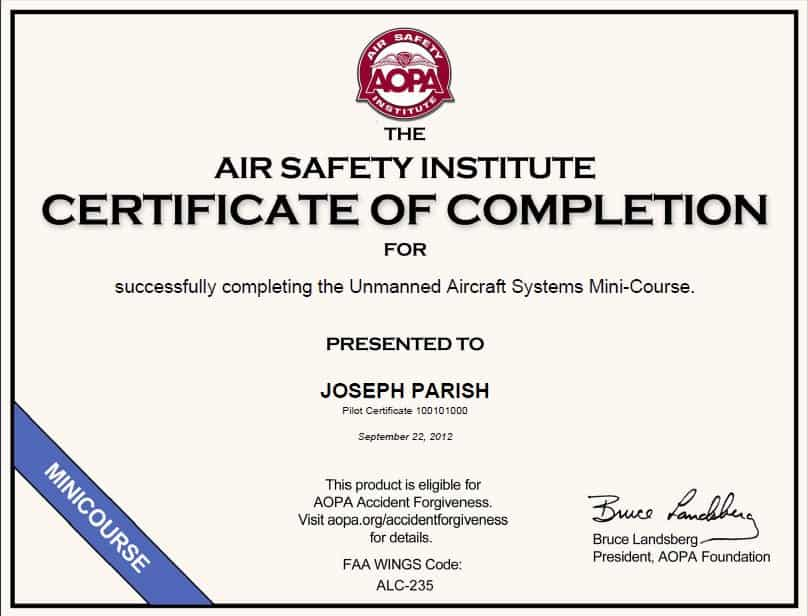 Free Certificate of Completion example 18.9641