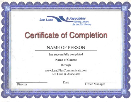 Free Certificate of Completion example 23.941